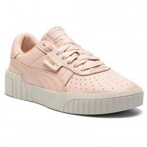 Puma Cali emboss pink sneakers